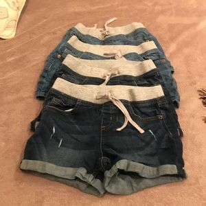 Justice Girls Shorts  (set of 4)